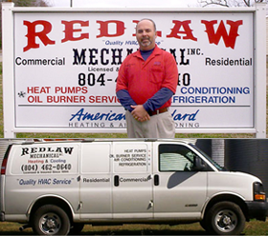 Jim Walder and Contact Truck - Air Conditioning